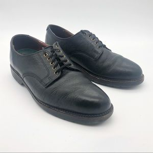 H. S. Trask 100% Genuine Leather Lace-Up Oxfords